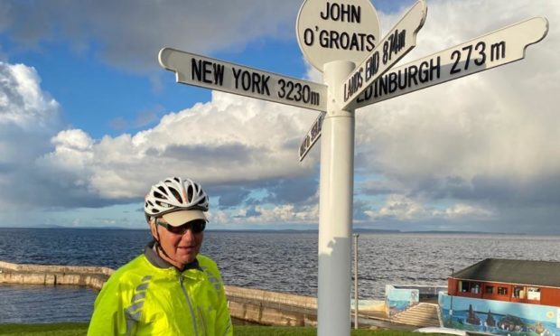Former Royal Marine Jonathan Thomson on his charity cycle for PTSD Resolution