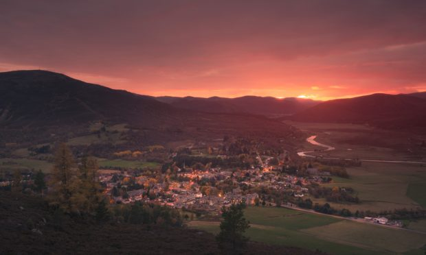 Braemar is one of many picturesque spots along the 250 mile route.