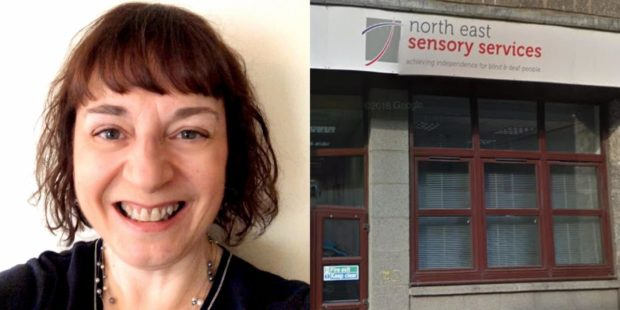 Caroline Rutherford fundraising manager for North East Sensory Services