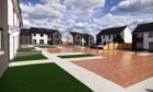 An artist's impression of how homes at Kinbroom, Rothienorman might look. Courtesy of Aberdeenshire Council.