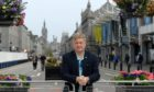 SNP group leader Alex Nicoll in the pedestrianised stretch of Union Street, Aberdeen. Picture by Kath Flannery.