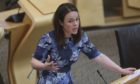 """Kate Forbes MSP said the unit's opening is """"a fantastic day"""" for patients."""