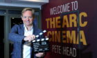 Film director Jon S Baird at the opening of the The Arc Cinema Peterhead. Picture by DARRELL BENNS