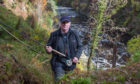 Ian Neale runs angling trips for visitors from his home near Forres.