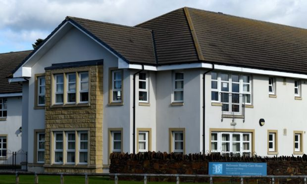 Balhousie Huntly Care Home in Huntly.  Picture by Kenny Elrick.