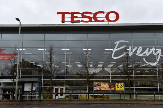 Jack Smith entered the Aberdeen Tesco store drunk and was abusive towards staff.