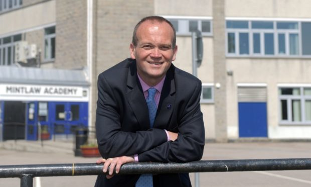 Laurence Findlay, head of education for Aberdeenshire Council. Picture by Kath Flannery.