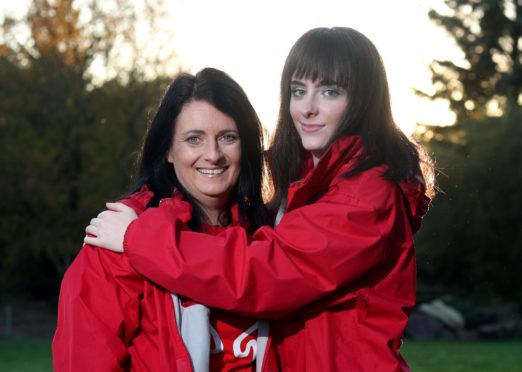 Margaret McWilliam and Jade McWilliam. Picture by Scott Baxter.