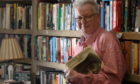 Bill Anderson of Highflight Bookshop in Dingwall. Picture by Sandy McCook