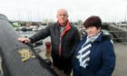 Hugh and June Macleod, son of Kevin Macleod who died in mysterious circumstances at Wick Harbour in 1997.  Picture by Sandy McCook