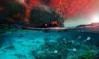 Mass extinction illustration. Illustrated by Dawid Adam Lurino (PaleoFactory, Sapienza University of Rome)