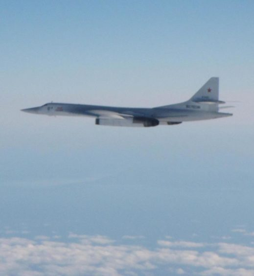 One of the Russian bombers.