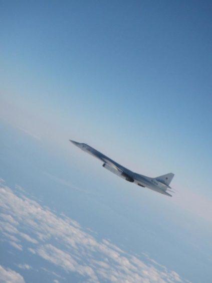 Russian bomber.