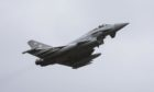 RAF Typhoons were launched to escort Russian bombers away from NATO airspace