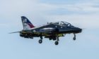 Royal Navy Hawk jets are taking part in a Nato exercise off the coast of Aberdeen this month.