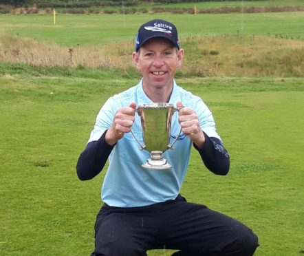 Ross Cameron after winning the Northern Open last month.