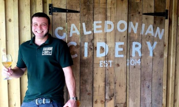 Ryan Sealey, Caledonian Cider Company.