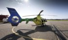 It's six months since Aberdeen-based Helimed 79 launched for the first time. Picture shows; SCAA Helimed 79. Aberdeen. Courtesy: SCAA