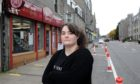 Kimberly Stewart, manager at Thains Bakery, George Street, Aberdeen.