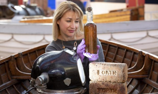 Abigail McIntyre, senior curator at the Scottish Maritime Museum.