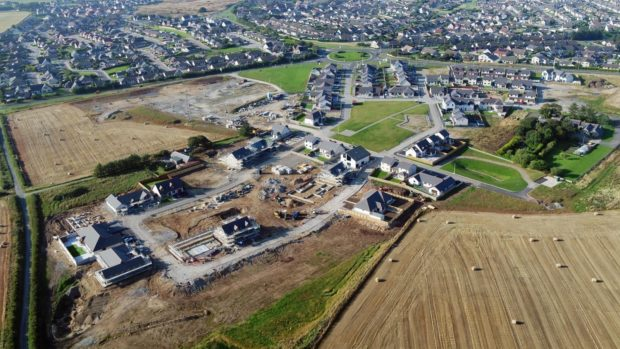 Another 130 homes are being proposed at the Kirkton Heights housing development in Fraserburgh.