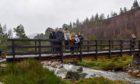 Utsi bridge at Cairngorms