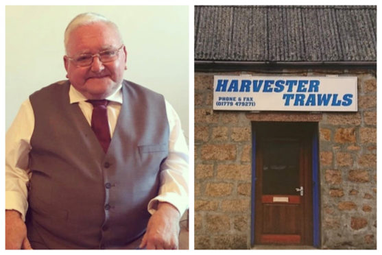 John Buchan owned and operated Harvester Trawls net store in Peterhead for 30 years