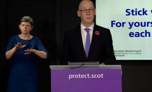 LIVE UPDATES: Scotland records 28 new deaths and 1,281 coronavirus cases in the past 24 hours