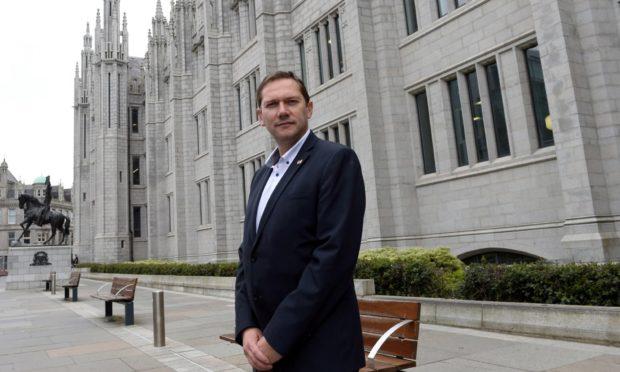 Aberdeen City Council co-leader Douglas Lumsden. Picture by Darrell Benns.