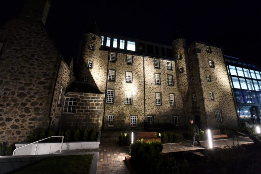 Many ghost stories are attached to Provost Skene's House.