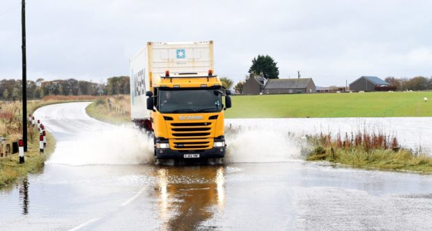 Flooding is expected today in the Highlands.