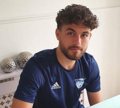 Peterhead goalkeeper Josh Rae.