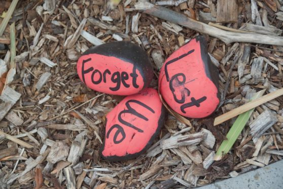 Remembrance stones