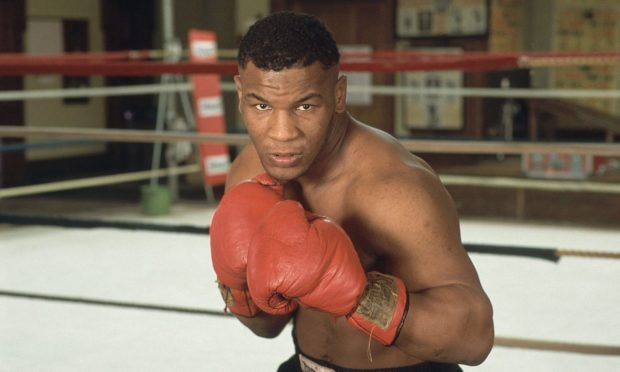 Heavyweight boxer Mike Tyson was interviewed by Vic.