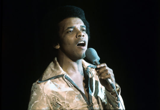 Johnny Nash in 1975. Photo by Shutterstock