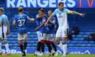 James Tavernier scored the spot to open the scoring against Ross County.
