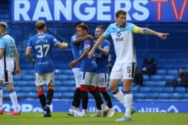 Spirited Ross County display not enough as James Tavernier and Brandon Barker give Rangers all three points