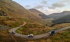 The A83, Old Military Road, at Rest and Be Thankful