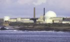 Dounreay atomic plant in Caithness.