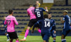 Inverness met Saturday's Championship opponents Raith Rovers in the Betfred Cup.