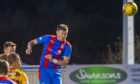 Shane Sutherland nets for Inverness against East Fife.