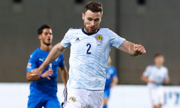Scotland defender Stephen O'Donnell.