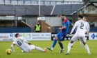 James Keatings scores Inverness' opener.