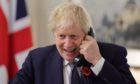 London calling: Prime Minister Boris Johnson.