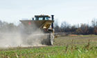 English farmers face a potential ban on the use of solid urea fertilisers.
