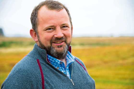 Andrew Booth from Savock Farm, Ellon.