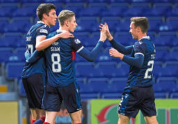 Ross County boss Stuart Kettlewell urges Staggies to embrace challenging stretch of games