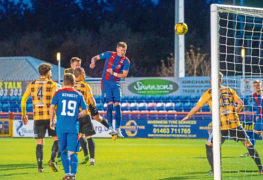 John Robertson thinks Caley Thistle's tight win over East Fife reflects 'tough shift' his injury-hit squad have faced in Betfred Cup