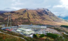 The aluminium smelter at Fort William.