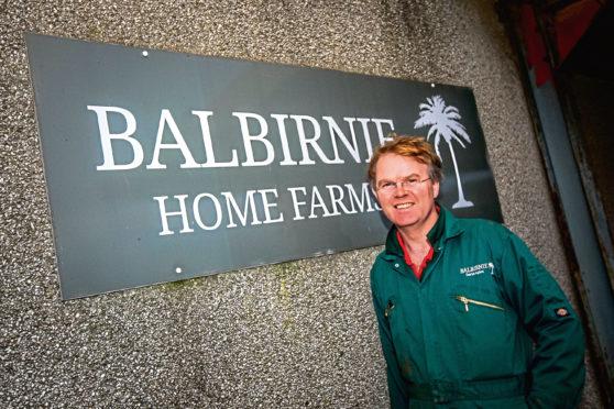 David Aglen from Balbirnie Home Farms